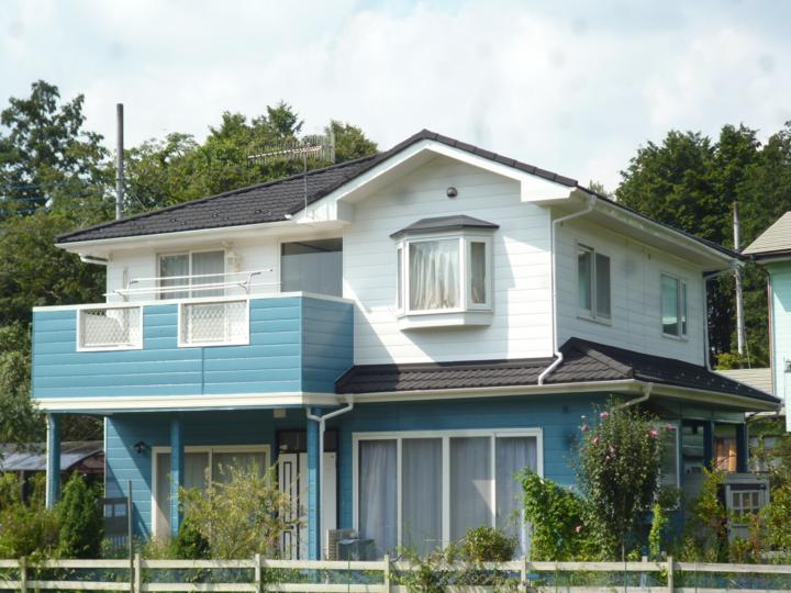 栃木県宇都宮市 N様邸 外壁塗装、屋根カバー、帯交換工事