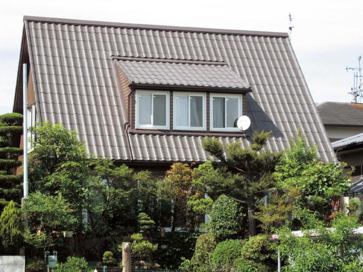 日本の伝統美を受継いだ軽量FRP瓦