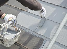 屋根塗装施工後