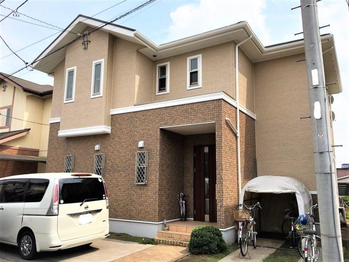 栃木県小山市I様邸 屋根外壁塗装工事