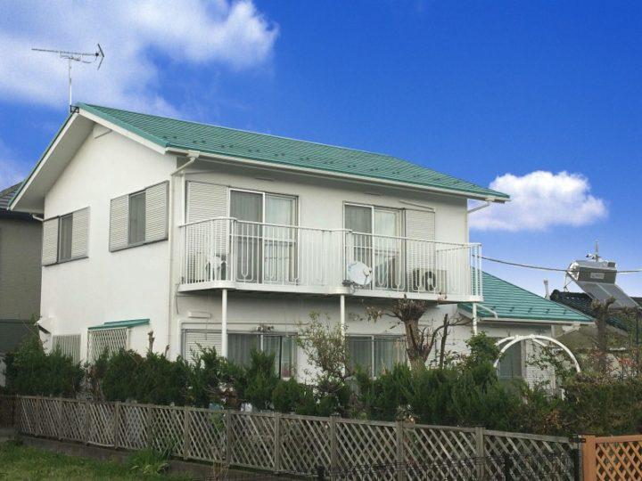栃木県宇都宮市S様邸 屋根カバー工法・外壁塗装工事
