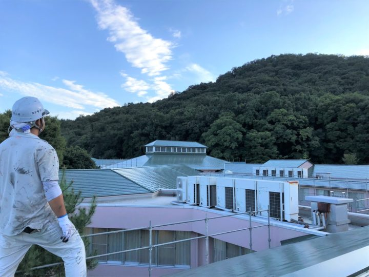 栃木県足利市 屋根塗装工事