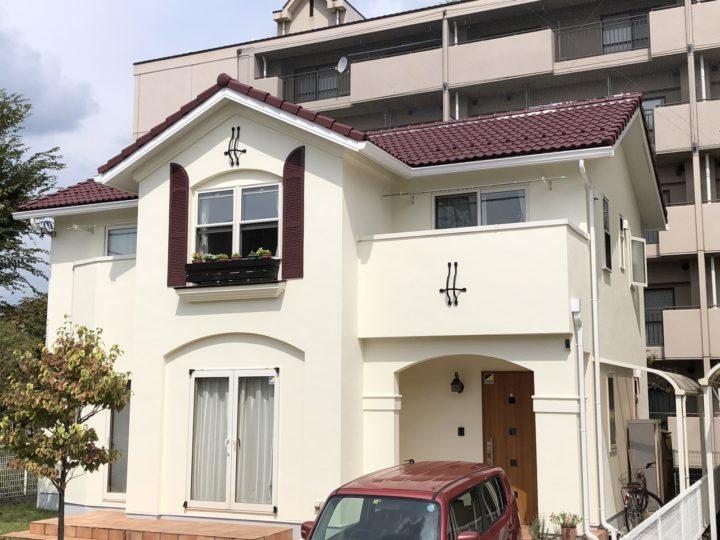 栃木県下野市 F様邸 屋根外壁塗装工事