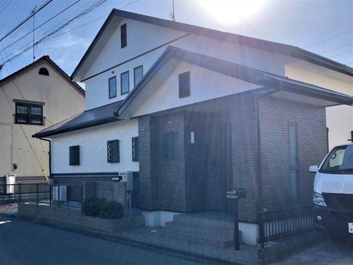 栃木県真岡市 O様邸 屋根外壁塗装工事