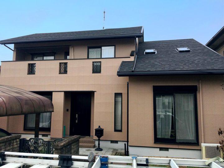 栃木県矢板市 T様邸 屋根カバー工事・外壁塗装工事