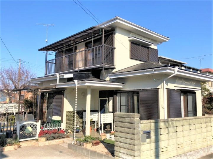 栃木県宇都宮市 S様邸 屋根塗装・瓦棒屋根葺き替え・外壁塗装工事