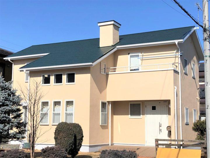 栃木県河内郡上三川町 W様邸 屋根外壁塗装工事