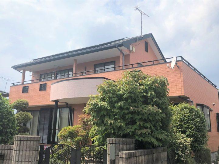 栃木県宇都宮市E様邸 屋根外壁塗装工事