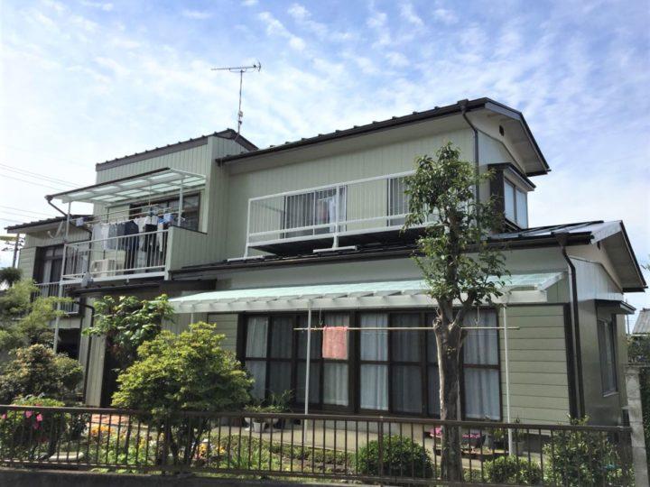 栃木県塩谷郡高根沢町 M様邸 屋根外壁塗装工事