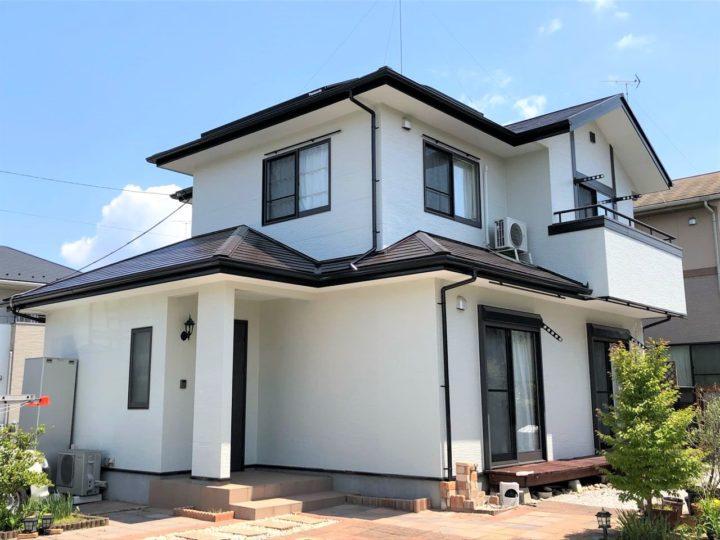 栃木県さくら市 屋根外壁塗装工事