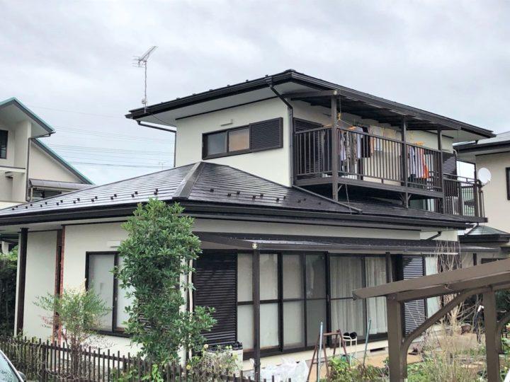 栃木県宇都宮市 F様邸 屋根外壁塗装工事