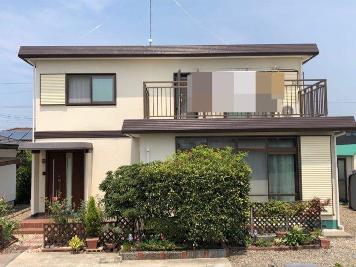 栃木県真岡市 H様邸 屋根外壁塗装工事