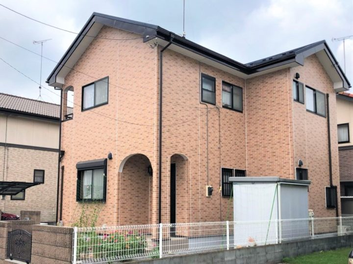 栃木県小山市 K様邸 屋根カバー・塗装工事