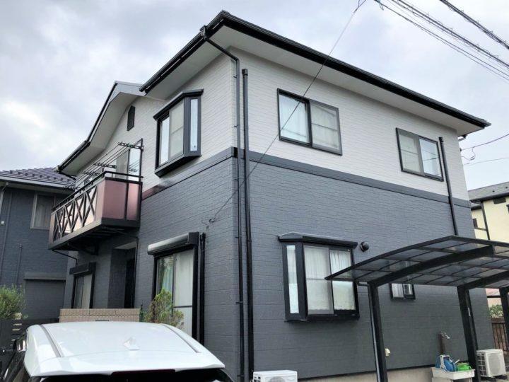栃木県宇都宮市 O様邸 屋根外壁塗装工事・換気棟取付け工事