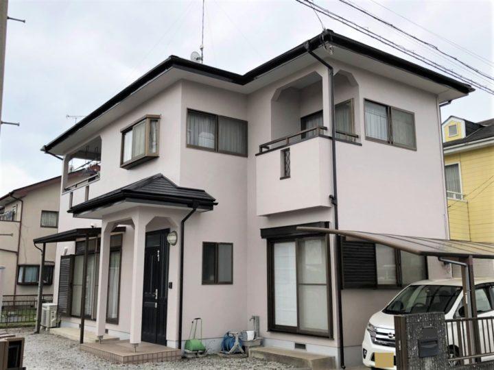 栃木県河内郡 O様邸 棟板金交換工事・屋根外壁塗装工事