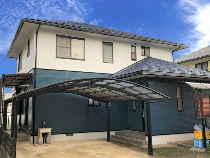 栃木県鹿沼市 M様邸 屋根外壁塗装工事