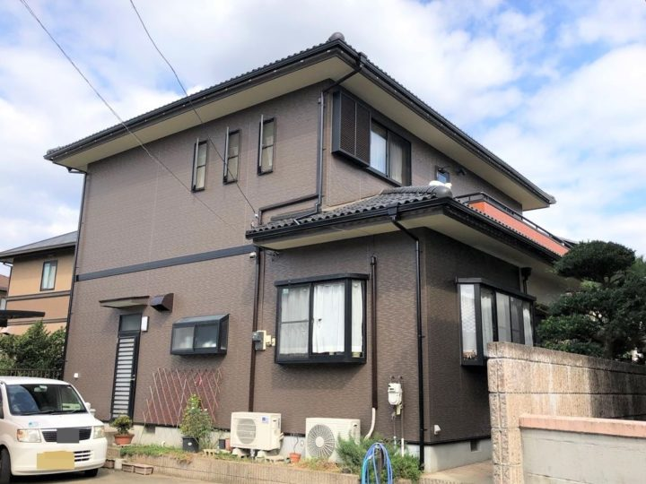 栃木県宇都宮市 T様邸 外壁塗装工事