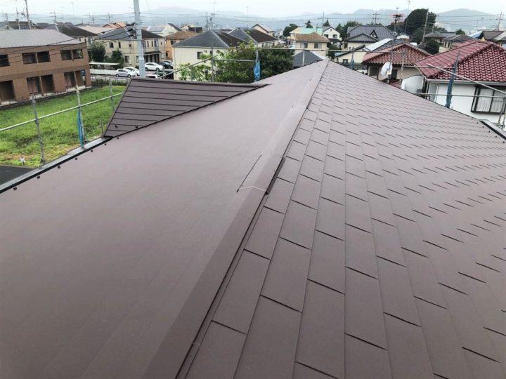 栃木県鹿沼市 Rアパート様 屋根カバー・シーリング工事