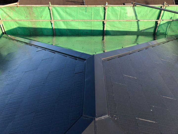 栃木県宇都宮市 M様邸 屋根塗装・棟板金交換工事