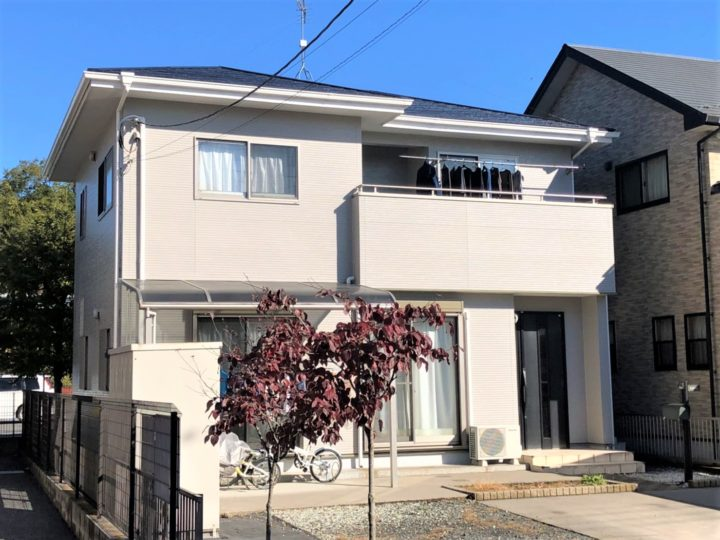 栃木県宇都宮市 H様邸 屋根外壁塗装工事