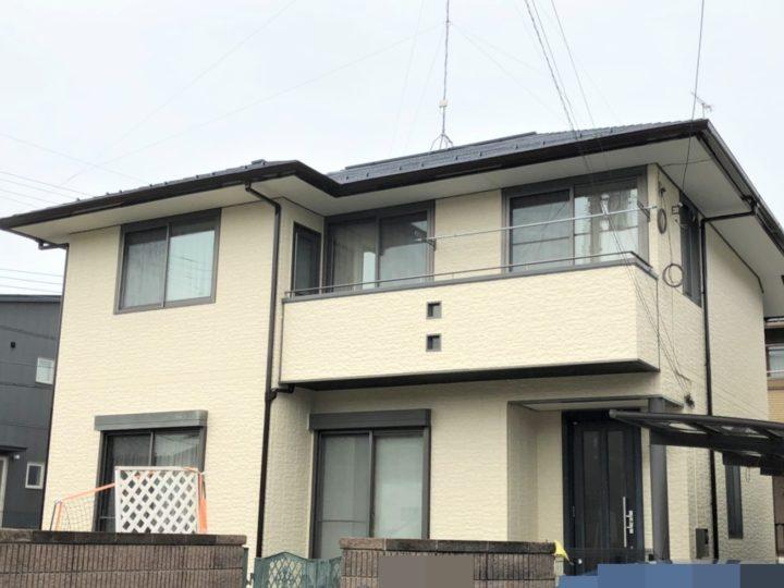 栃木県宇都宮市 H様邸 屋根外壁塗装・シーリング工事