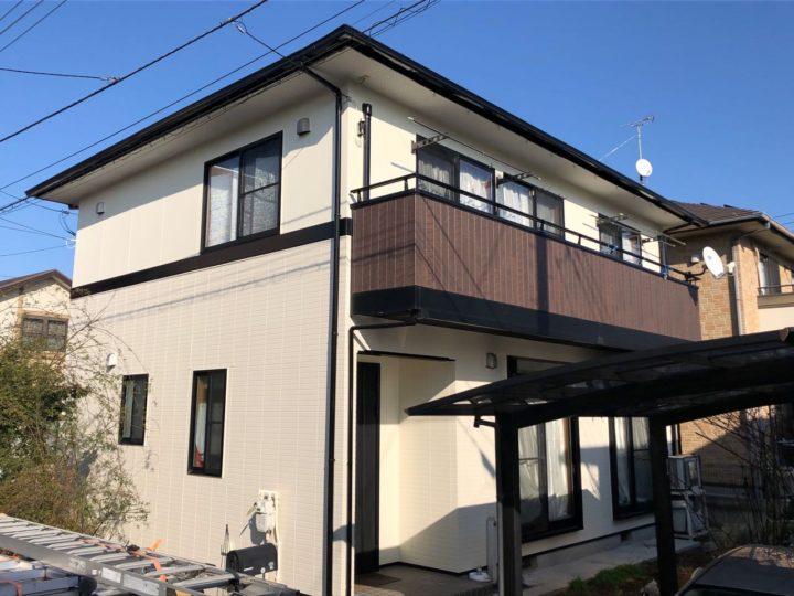 栃木県宇都宮市 T様邸 屋根外壁塗装・シーリング工事
