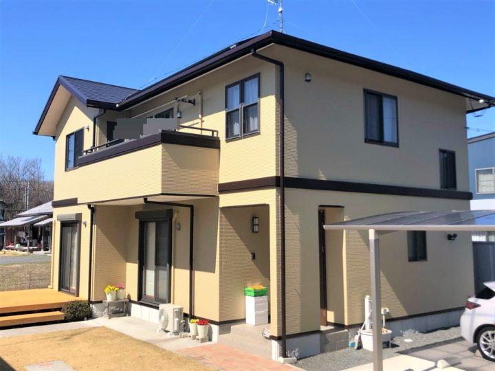 栃木県芳賀郡 S様邸 屋根外壁塗装工事