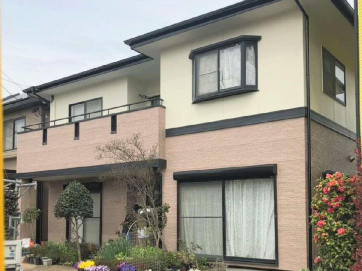 栃木県佐野市 O様邸 屋根外壁塗装工事