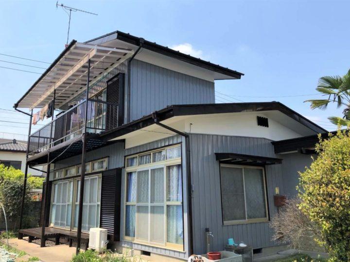 栃木県宇都宮市 K様邸 棟板交換・屋根外壁塗装工事
