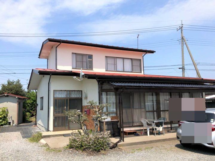 栃木県塩谷郡 K様邸 棟板板金交換工事