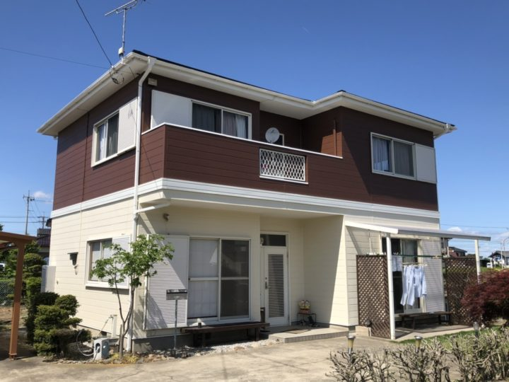 栃木県河内郡 A様邸 屋根外壁塗装工事