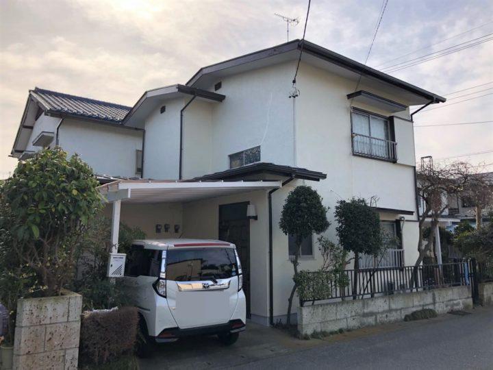 栃木県宇都宮市 W様邸 屋根外壁塗装工事