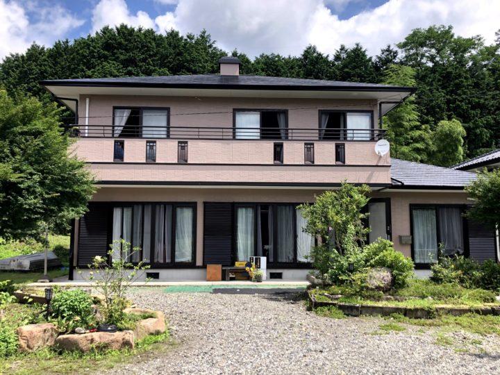 栃木県塩谷郡 K様邸 屋根外壁塗装工事