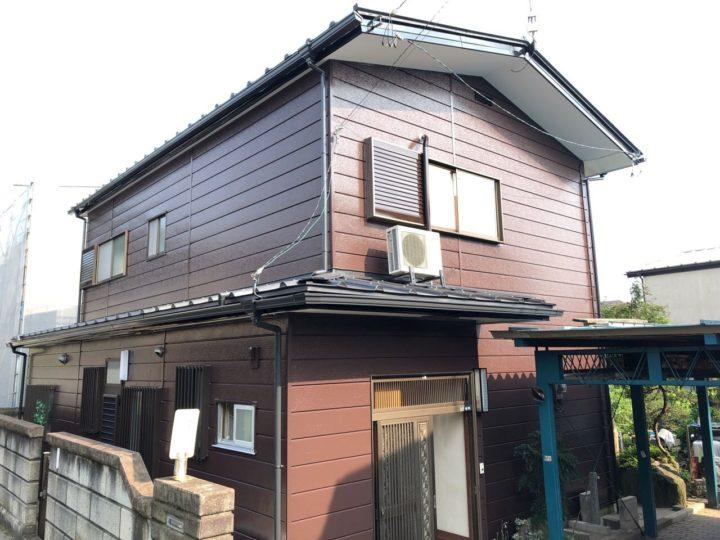栃木県宇都宮市 T様邸 屋根カバー・外壁塗装工事