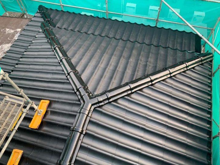 栃木県宇都宮市 S様邸 ファイバージャケット『セキスイかわらU』専用FRP製屋根補修工事