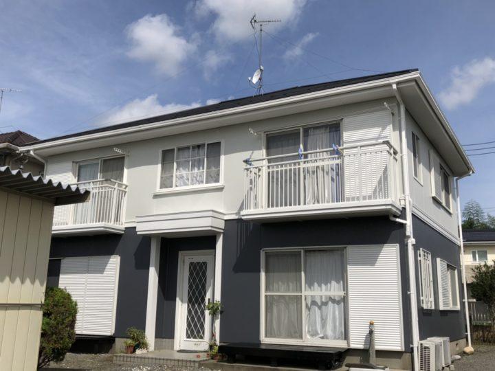 栃木県宇都宮市 U様邸 屋根カバー・外壁塗装工事