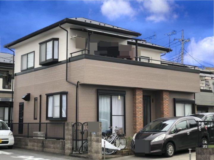 栃木県宇都宮市 M様邸 屋根外壁塗装工事
