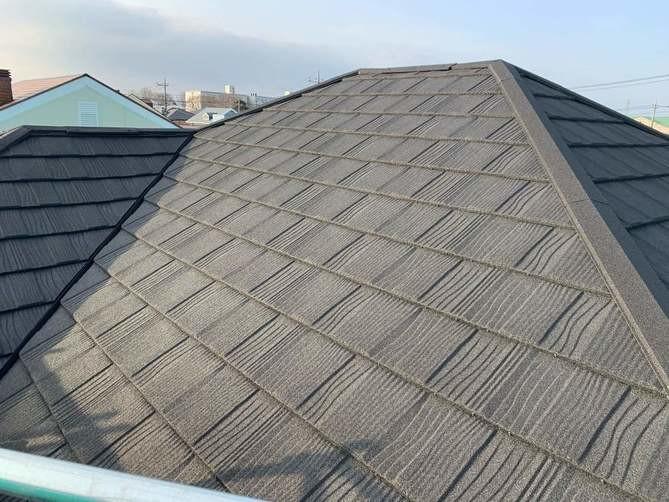 栃木県下野市 O様邸 スレート屋根から『リクシル Tルーフ』へ屋根カバー工法しました!!